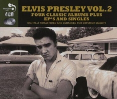 Elvis Presley - 4 Classic Albums Plus Singles And EPs
