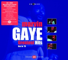 Gaye Marvin - Greatest Hits Live In '76 (Cd+Dvd)