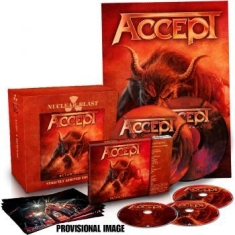 Accept - Blind Rage (Cd+Dvd+Bluray+2X7