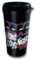 The beatles - A Hard Days Night Travel Mug