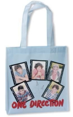 One Direction - Film Strips gravure print on shiny gloss Eco Bag