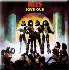 Kiss - Kiss - Fridge Magnet: Love Gun Album