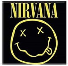 Magnets - Nirvana Fridge Magnet: Smiley