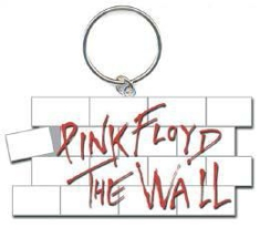 Pink Floyd - The Wall Key Chain: The Wall Logo i gruppen ÖVRIGT / Merch Storsäljare hos Bengans Skivbutik AB (1129683)
