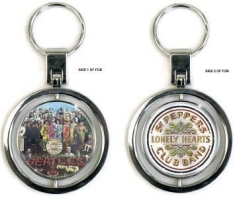 Beatles - Premium Keychain: Sgt Pepper (Spinner)
