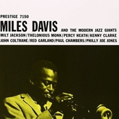DAVIS MILES - Md & The Modern Jazz Giants (Vinyl)
