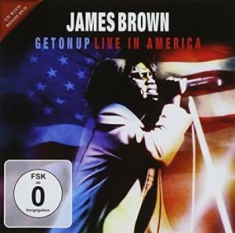 Brown James - Get On Up - Live In America Cd+Dvd
