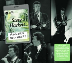 Hackett Steve - Access All Areas - Live (Cd+Dvd)