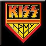 Kiss - Kiss - Fridge Magnet: Kiss Army