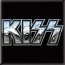 Kiss - KISS Fridge Magnet: Chrome Logo