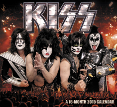 Kiss - A 16 month 2015 calender - square