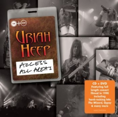 Uriah Heep - Access All Areas - Live (Cd+Dvd)