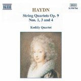 Haydn - String Quartets Op 9 Nos 1, 3 and 4
