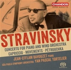Stravinsky, Igor - Concerto For Piano And Wind Orchest