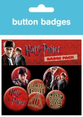 Harry Potter - Button badges 6 pack