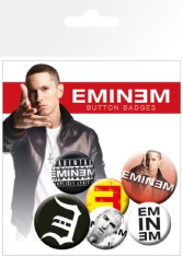 Eminem - Button badges 6 pack