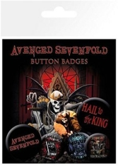 Avenged Sevenfold - Button badges 6 pack