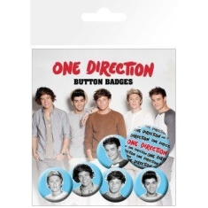 One Direction - Button badges 6 pack