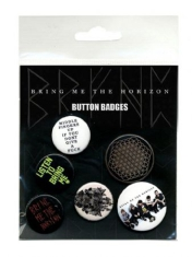 Bring Me The Horizon - Bring Me The Horizon Button badges Sempiternal