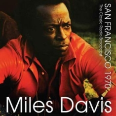 DAVIS MILES - San Francisco 1970 - Radio Broadcas