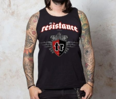 The Resistance - Tanktop Logo Red