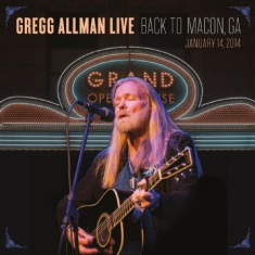 Allman Gregg - Live - Back To Macon, Ga (2Lp)