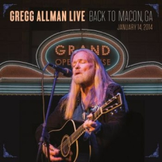 Allman Gregg - Live - Back To Macon, Ga (Bluray)