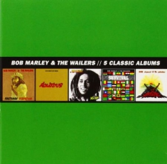 Bob Marley - Classic Album Selection (5Cd)