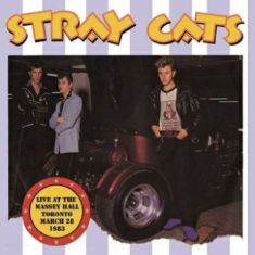 Stray Cats - Live Toronto March 28, 1983