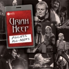 Uriah Heep - Access All Areas - Moscow Live  (Cd