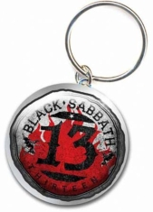 Black Sabbath - Standard Keychain: 13 Flame Circle
