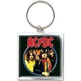 ACDC - Devil angus metal keychain