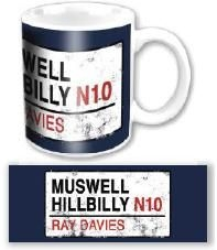 The kinks - The Kinks Muswell Hillbilly Ceramic Boxed Mug