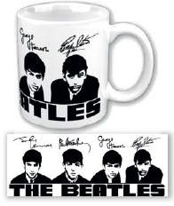 The beatles - The Beatles Boxed Mug: Portrait & Signatures
