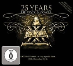 Axxis - 25 Years Of Rock And Power (Cd + Dv