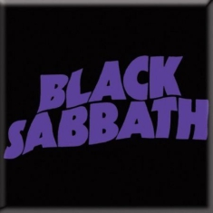 Black Sabbath - Black Sabbath - Wavy Logo Fridge Magnet