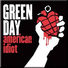 Green Day - Green Day Fridge Magnet: American Idiot