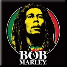 Bob Marley - Logo Face fridge magnet