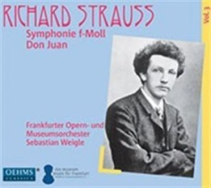 Strauss, Richard - Symphonic Poems From Frankfurt, Vol
