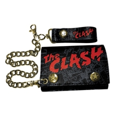 The Clash - Leather Wallet The Clash - W Punk Print