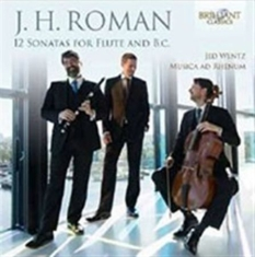 Roman, J H - 12 Sonatas For Flute And B.C.