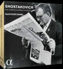 Shostakovich, Dmitry - String Quartets Nos. 1-15 (5 Cd)