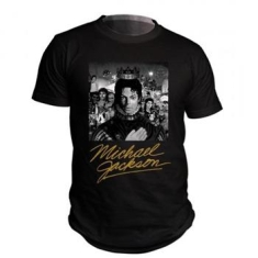 Michael Jackson - M/Bw Cover Gold S/Blk/Ts/F/Tb