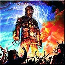 Iron Maiden - Iron Maiden Fridge Magnet: Wicker Man