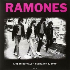 Ramones - Live In Buffalo Feb. 8 1979