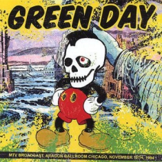 Green Day - Mtv Broadcast, Aragon Ballroom 1994