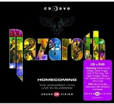 Nazareth - Homecoming (Cd+Dvd)