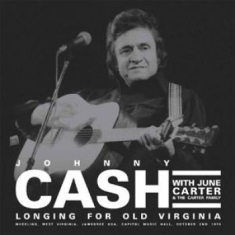 Johnny Cash - Longing For Old Virginia (2Lp)