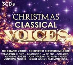 Various artists - Christmas - Classical Voices (3CD)