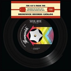Various artists - Ten 45's From the Brunswick Records Catalog